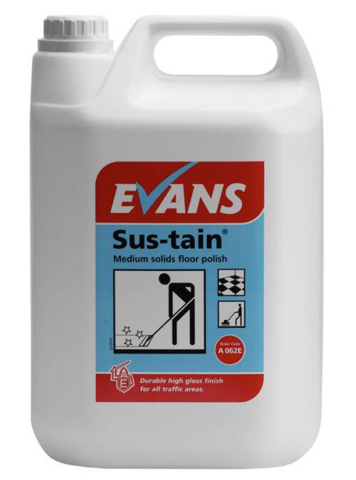 Evans Sus-tain Floor Polish 5L
