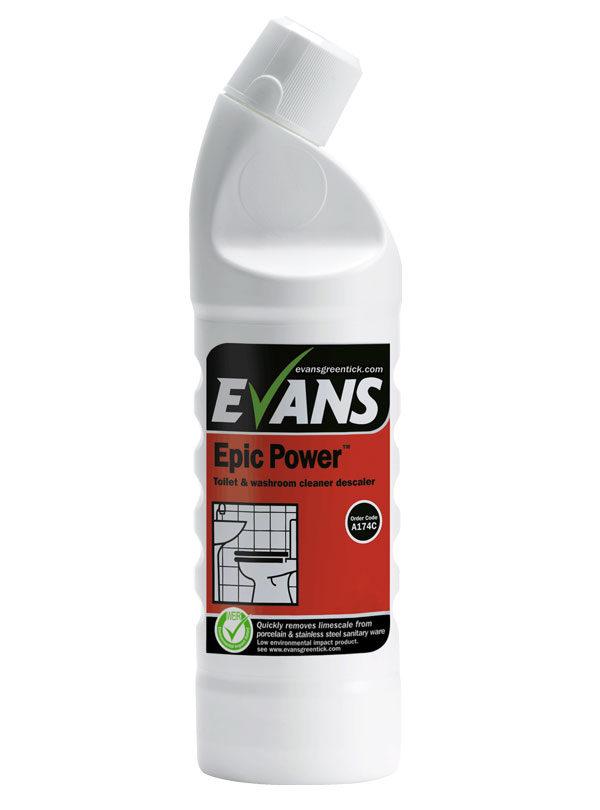 Evans Epic Power Toiler Cleaner 1L