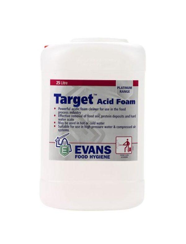 EVANS TARGET ACID FOAM 25LT